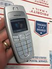 Nice Nokia 6010 Silver Unlocked T Mobile 2G Sturdy Basic Easy Cellular Phone