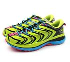 Hoka One One RAPA NUI 3 Acid Cyan Trail Running Sneakers US 9 RARE