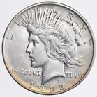 Early 1922 D Peace Silver Dollar 90 Silver US Coin 603