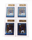 Lot of (4) 2006 Bowman Prospects Chrome Lorenzo Cain #BC160 Brewers All BGS 9.5