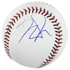 Angles Mike Trout Authentic Signed Oml Baseball Autographed BAS #D17887