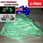 4pcs GREEN 120cm 47 Glow In The Dark Shoelaces Sports Sneaker Shoe Laces Fast