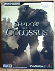 SHADOW of the COLOSSUS complete near mint PS2 game guide~Brady~Playsttation 2