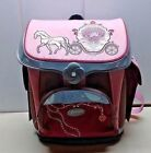 Sammies by Samsonite pink Girls large Packpack Bag Horse Carriege Carry All On