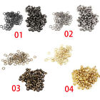 100pcs lot Metal Eyelets Grommets 4mm for Leather Craft DIY Scrapbooking Shoes