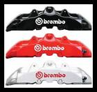 BREMBO Brake Caliper HIGH TEMP Decal Sticker 1 Set of 4 You pick size