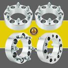 4 2 Fits Chevy 6 Lug Wheel Spacers Adapters For Silverado 1500 Tahoe Suburban