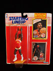 Dominique Wilkins 1990 Starting Lineup Basketball Figurine Toy 1982 Rookie Card
