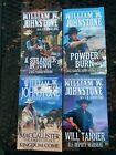 Lot of 4 Western Paperbacks by William Johnstone Will Tanner
