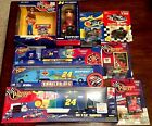 JEFF GORDON 24 NIBNASCAR FIGURES TRANSPORTERS CARS RIG TRUCK CONVERTIBLE