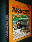 1973 1980 CHEVY FORD SCOUT DODGE BRONCO+ CHILTONS TRUCK SHOP MANUAL SHOP BOOK