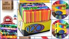 Art Paint Markers pen Set of 120 Colors For Kid Adult coloring book Washable