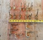 Twisted Wire Coat Hat Hooks Various Sizes