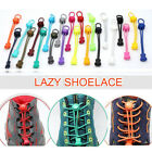 2PCS Unisex Elastic Locking Shoe Lace Sport Sneakers Runner No Tie Lazy Shoelace