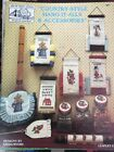 Cross Stitch And Needlework Pattern Booklets Projects Gifts Home Items