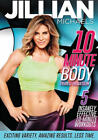 Jillian Michaels 10 Minute Body Transformation DVD 2016  NEW