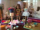 American girl Lea Clark girl of year, huge lot, new accessories clothes food