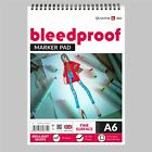 Bleedproof Sketching Drawing Layout Marker Paper Pad - On Spiral - 50 Sheets