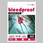 Bleedproof Sketching Drawing Layout Marker Paper Pad - Gummed - 50 Sheets