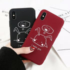Slim Thin Silicone Cute Pattern Soft TPU Back Case Cover For iPhoen X 6 7 8 Plus