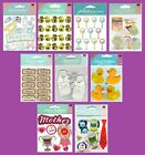 Jolees BABY Stickers Family Mother Mom Dad Daddy Parent Duck Duckie Rattle Shoe