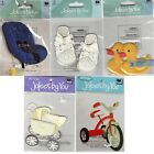 Jolees By You BABY Stickers Car Seat Carriage Tricycle Duck 1st Shoes Boy Girl