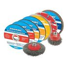Silverline Cutting & Grinding Discs Kit 12pce 12pce 115mm - 633831