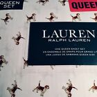 Ralph Lauren Beagle Dog QUEEN XDP Sheet Set 4p NIP Free Ship