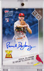 Paul DeJong Cards Autograph 2017 Topps Now RC All Star Rookie OS-12C 35 49 AUTO