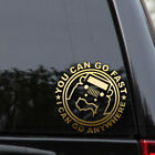 Jeep Off Road Decal Sticker Wrangler Rubicon 4x4 Vinyl