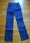 1980s Mens Lee Dark Wash Jeans Size 28 x 30 Made in USA Deadstock
