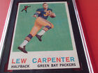 1959 LEW CARPENTER ROOKIE # 95 TOPPS SGC 82 PACKERS FOOTBALL !!