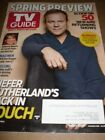 TV GUIDE MARCH 2012 SPRING PREVIEW KIEFER SUTHERLAND SARAH PALIN JULIANNE MOORE