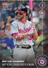 BRYCE HARPER - 5 9 16 TOPPS NOW CARD 59 - PRINT RUN QTY: 1,366 CARDS