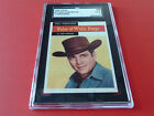 1958 TOPPS TV WESTERNS DALE ROBERTSON # 57 SGC 50 !!
