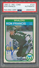 Ron Francis Cards, Rookie Card and Autographed Memorabilia Guide 30