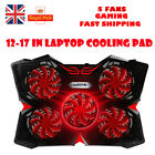 UKCoolCold Fashion LED Flash Laptop Cooler Stand Cooling Pad for 12 17 inch