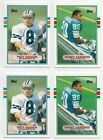 1989 Topps Traded Football Complete Set Lot Of 4 Sets In Box Sanders-Aikman RC's
