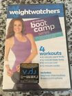 WEIGHT WATCHERS 15 Minute Boot Camp Series DVD 4 Workouts Exercise Program