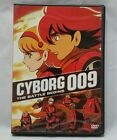 Cyborg 009 The Battle Begins DVD Complete with Collectible Trading Cards