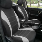 11 Part Universal Car Seat Covers Front Rear Head Rests Full Set Auto Seat Cover