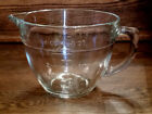 Anchor Hocking Glass  4 Cups - 1 QT Measuring Cup - Wide Mouth Opening