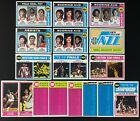 LOT OF (122) ASSORTED (76) DIFF. 1974-75 TOPPS BASKETBALL CARDS (EX-MT to NM)