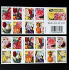 20 Forever Stamps Spring Flowers Tulips Rose Iris Lily Daffodil Botanical Art US