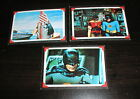 1966 Topps Batman Riddler Back Card Lot, Numbers 6,13 and 31