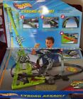 VINTAGE NOS NEW IN UNOPENED BOX HOT WHEELS CYBORG ASSAULT MOTORIZED RACE TRACK
