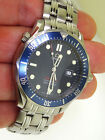 Mens Omega Seamaster Professional 2221.80 41mm. Blue Bond Watch