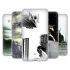 OFFICIAL HAROULITA BLACK WHITE 2 SOFT GEL CASE FOR HTC PHONES 1