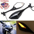 Turn Signal Integrated Mirrors LED light For Honda CBR600RR 2003-2017 CBR1000RR