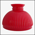 RUBY RED CASED GLASS RIBBED SHADE ALADDIN LAMP N302 STYLE NEW IN BOX